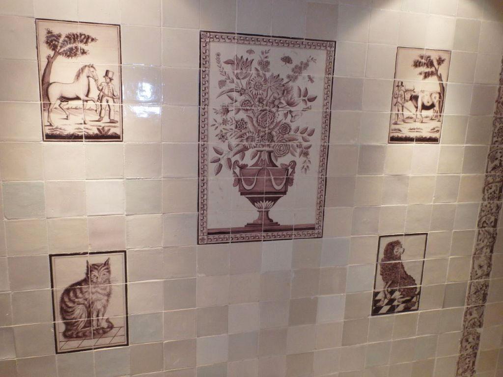 Antieke Tegels Herkennen : Regts antieke nederlandse tegels