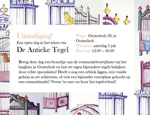 Open dag – Tussen Tegel & Schouw'