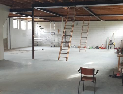 Eind 2018 opening expositie- en werkruimte te Franeker