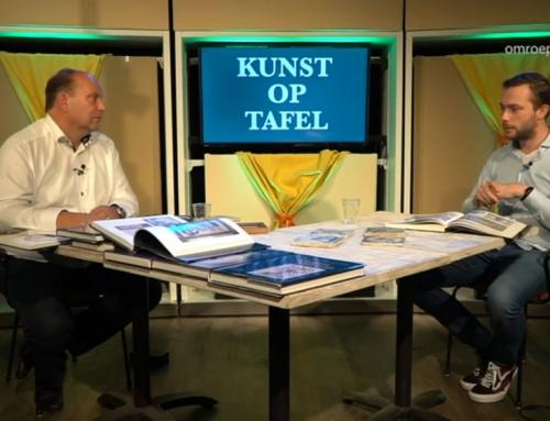 Durk Regts te gast bij TV-programma 'Kunst op tafel'